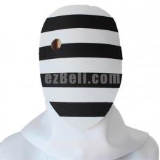 New! Anime Tokyo Ghoul 2nd Nashiro Yasuhisa Black White Stripes Cosplay Mask