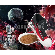 New! Anime Tokyo Ghoul Ken Kaneki Casual Cosplay Sneakers Shoes