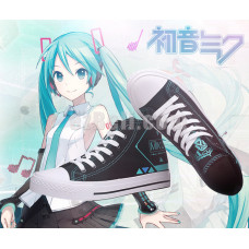 New! Vocaloid Hatsune Miku Casual Shoes