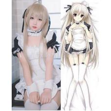 New! Anime Yosuga no Sora Kasugano Sora Lolita Maid Outfit Cosplay Costumes