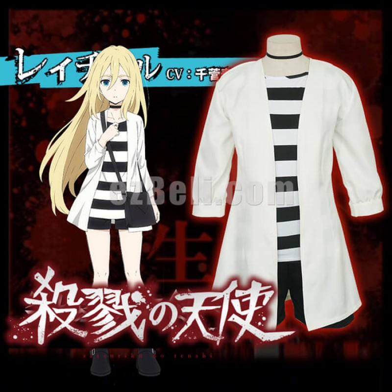 New! Angels Of Death Satsuriku No Tenshi Ray Rachel Gardner Cosplay Costume