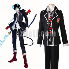 New! Ao no Exorcist Blue Exorcist Okumura Rin Okumura Yukio Cosplay Costume School Uniform