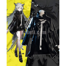 New! Game Arknights Lappland Black Cosplay Costume