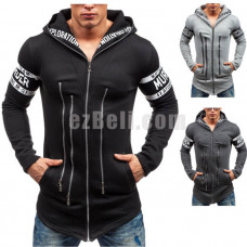New! Fashion Casual Assassins Creed Style Zippers Up Hoodie Sweatshirts