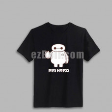 New! Big Hero 6 Baymax T-shirt Type A