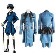 New! Anime Black Butler 2 Kuroshitsuji Ciel Phantomhive Uniform Cosplay Costume