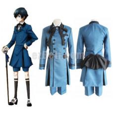 New! Anime Black Butler 2 Kuroshitsuji Ciel Phantomhive Uniform Cosplay Costume