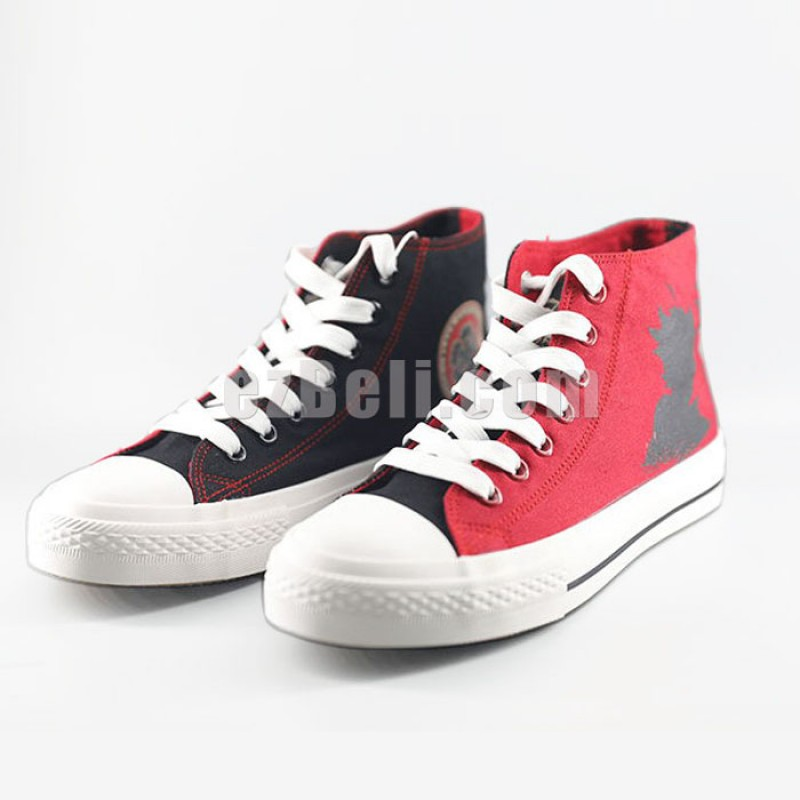 New! Anime Black Clover Asta Casual Cosplay Canvas Sneakers Shoes