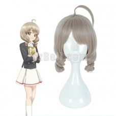 New! Anime Cardcaptor Sakura Clear Card Akiho Shinomoto Brown Short Cosplay Wig
