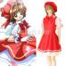 New! Anime Cardcaptor Sakura Kinomoto Herorine Princess Maid Lolita Dress Cosplay Costume