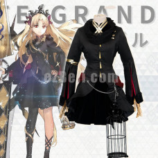 New! Anime Fate Grand Order Lancer Ereshkigal Dress with Earring and Wig Cosplay Custume