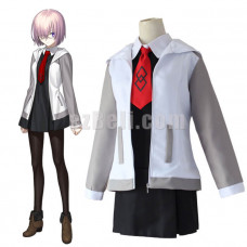 New! Fate Grand Order Mash Kyrielight Shielder Cosplay Costume