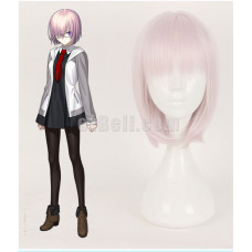 New! Fate Grand Order Mash Kyrielight Shielder Cosplay Wig