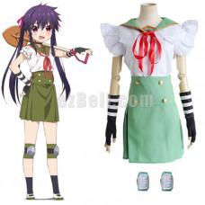 New! Anime Gakkou Gurashi! School-Live! Ebisuzawa Kurumi Cosplay Costume
