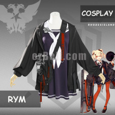 New! Game Arknights ГУМ Dress Cosplay Costume