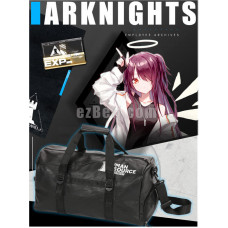 New! Game Arknights Black Casual Shoulder Travel Bag
