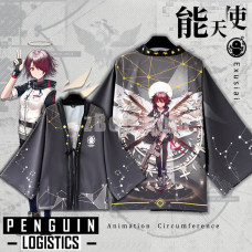 New! Game Arknights Penguin Logistics Exusiai Chiffon Pajamas Cloaks Casual Cosplay Yukata Kimono Coat Bathrobes