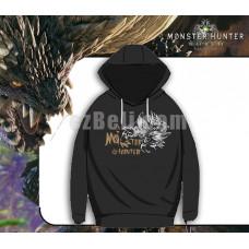 New! Game Monster Hunter World Casual Cosplay Black Men Women Sweater Hoodie