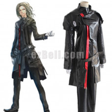 New! Guilty Crown Gai Tsutsugami Black Cosplay Costume