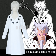 New! Naruto Hagoromo Ōtsutsuki Cloak Cosplay Costume