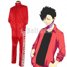 New! Haikyū!! Haikyuu Nekoma High Cosplay Volleyball Training Uniform Set
