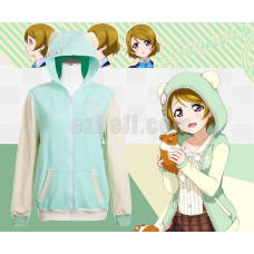 New! Love Live! Hanayo Koizumi Animals Unawakened  Anime Stylish Cosplay Hoodie Jacket