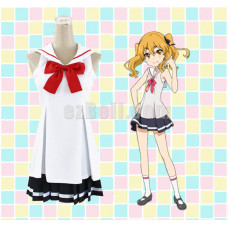 New! Wish Upon the Pleiades/Hokago no Pleiades Hikaru Cosplay Costume