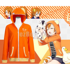 New! Love Live! Honoka Kosaka Animals Unawakened Anime Stylish Cosplay Hoodie Jacket