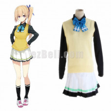 New! Anime Myriad Colors Phantom World Kawakami Mai cos College Japanese Girls Uniforms Costume