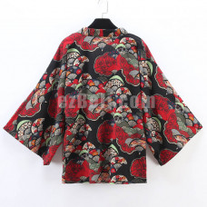 New! Japanese Retro Stylish Cloak Clothing