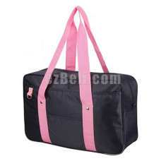 New! Popular Pink Straps Japanese Student School Bag Backpack