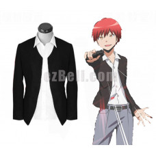 New! Assassination Classroom Akabane Karma Coat Suit Jacket Cosplay Costumes