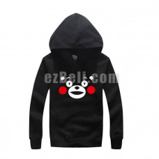New! Kumamon Long Sleeves Casual Hoodie Jacket