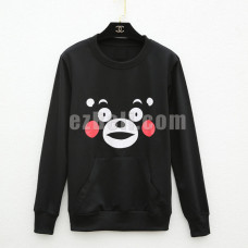 New! Kumamon Long Sleeves Casual Sweater Shirt