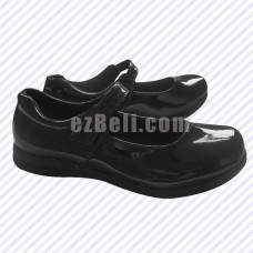 New! Women Lolita Japanese Black Cosplay Shoes Uniform Shoes