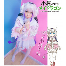 New! Miss Kobayashi-san Dragon Maid Kanna Kamui Dress Cosplay Costume