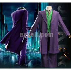 New! Movie Joker Arthur Fleck The Joker Costume Purple Suit Cosplay Costume