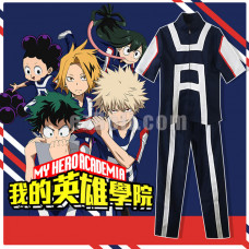 New! My Hero Academia Boku no Hero Academia Izuku Midoriya High School Gym Tracksuit Cosplay Costume