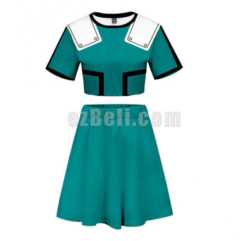 New! My Hero Academia Boku no Hero Academia Casual Cosplay Fancy Dress