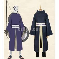 New! Naruto Akatsuki Ninja Tobi Obito Madara Uchiha Cosplay Costume