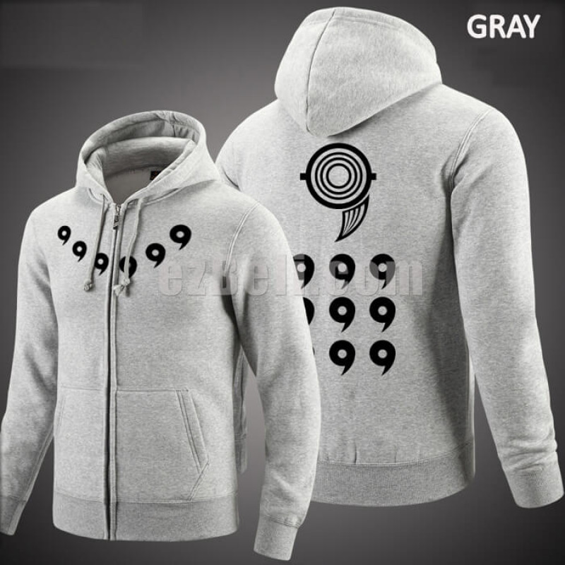 New! Naruto Long Sleeves Casual Hoodie Jacket