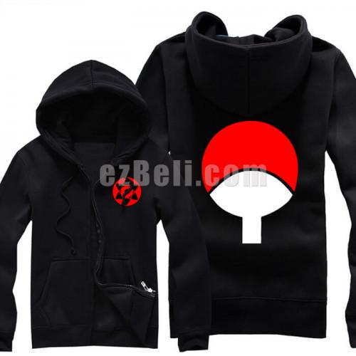 New Naruto Uchiha Hoodie Jacket