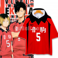 New! Haikyū!! Haikyuu Nekoma High Tetsuro Kuroo Volleyball Casual Shirt Hoodie