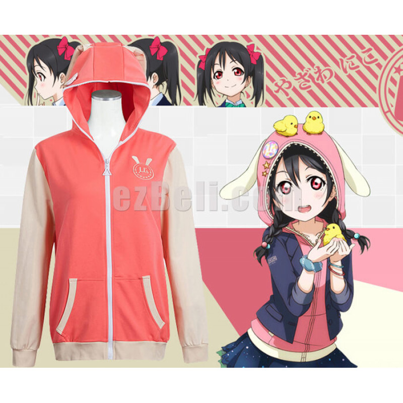 New! Love Live! Nico Yazawa Animals Unawakened Anime Stylish Cosplay Hoodie Jacket