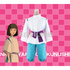 New! Spirited Away Haku Nigihayami Kohaku Nushi Cosplay Costume