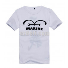 New! One Piece Marine Navy Sea Soldiers Justice Short Sleeves T-Shirt