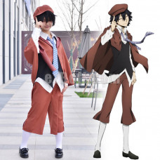 New!  Bungou Bungo Stray Dogs Ranpo Edogawa Cosplay Costume
