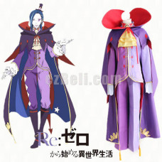 New! Re: Life In A Different World From Zero Roswaal L Mathers Cosplay Costume