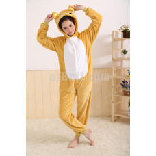 New! Coral Fleece Cartoon Rilakkuma Kigurumi Pajamas Pyjamas Costume Cosplay