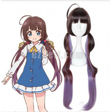 New! The Ryuo's Work is Never Done! Anime Ryuoh no Oshigoto! Ai Hinatsuru Cosplay Wig